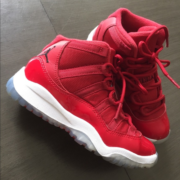 cheap for discount c5919 654f0 Kids (Children's) Air Jordan 11 Retro Red